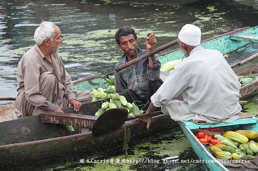 【喀什米爾Kashmir】印度India‧斯里那加Srinagar‧達爾湖Dal Lake~水上市場:IMG_0195.jpg