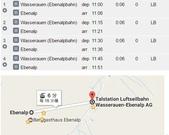 瑞士行程表圖檔: