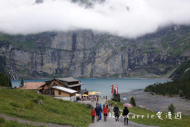 瑞士厄希嫩湖/ 歐能辛湖(Oeschinensee)~在世界自然遺產搭纜車玩滑梯健行趣【瑞士旅遊】:DSC07895.jpg