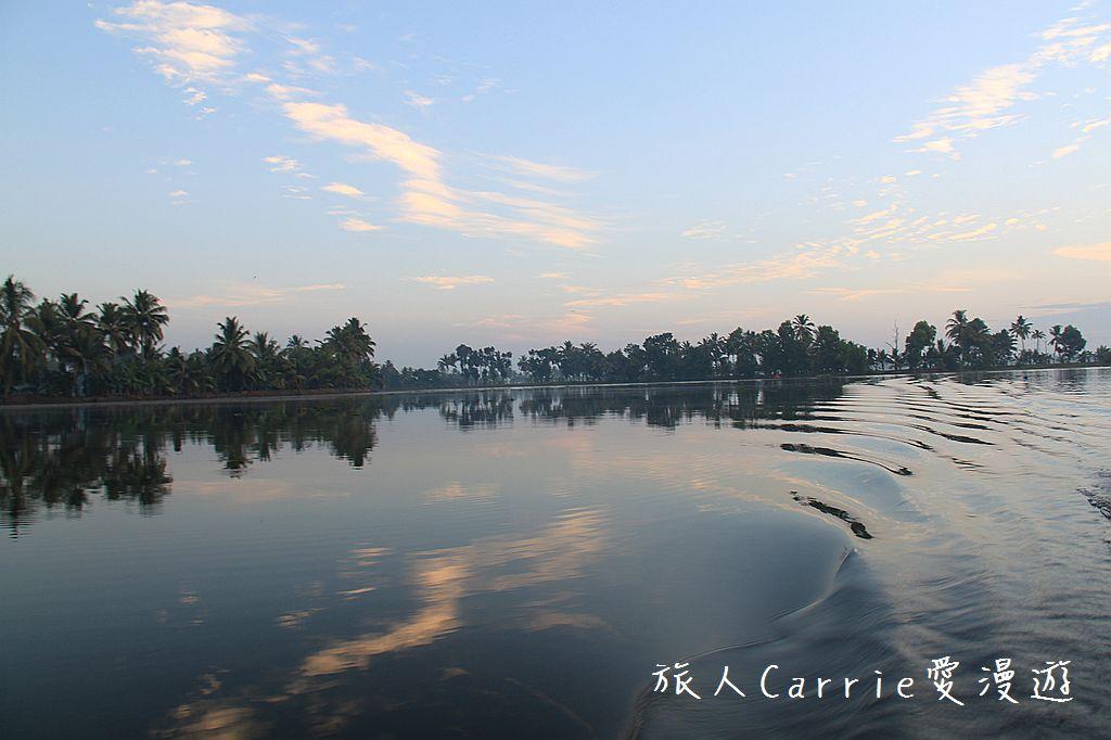 【南印喀拉拉】阿勒皮Alleppey~迴水區Backwater清晨盪小舟送明月迎朝陽:IMG_9204.jpg