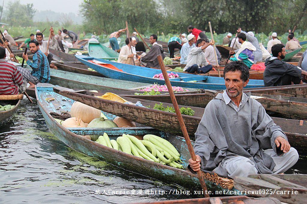 【喀什米爾Kashmir】印度India‧斯里那加Srinagar‧達爾湖Dal Lake~水上市場:IMG_0059.jpg