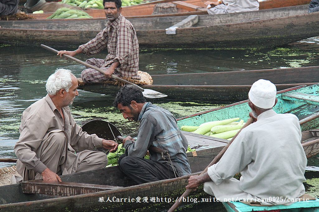 【喀什米爾Kashmir】印度India‧斯里那加Srinagar‧達爾湖Dal Lake~水上市場:IMG_0199.jpg