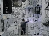 【展覽】老夫子50時空叮叮車~到台北松山文創園區搭乘叮叮車穿越時光隧道進入漫畫場景:24P1350501.jpg