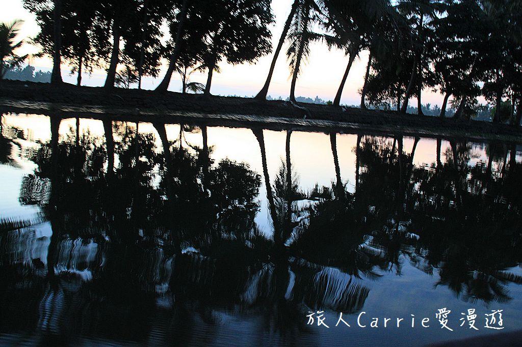 【南印喀拉拉】阿勒皮Alleppey~迴水區Backwater清晨盪小舟送明月迎朝陽:IMG_9107.jpg