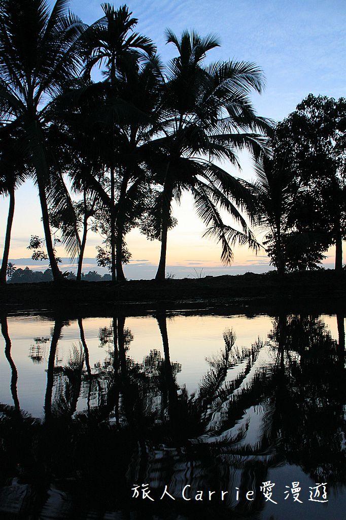 【南印喀拉拉】阿勒皮Alleppey~迴水區Backwater清晨盪小舟送明月迎朝陽:IMG_9115.jpg