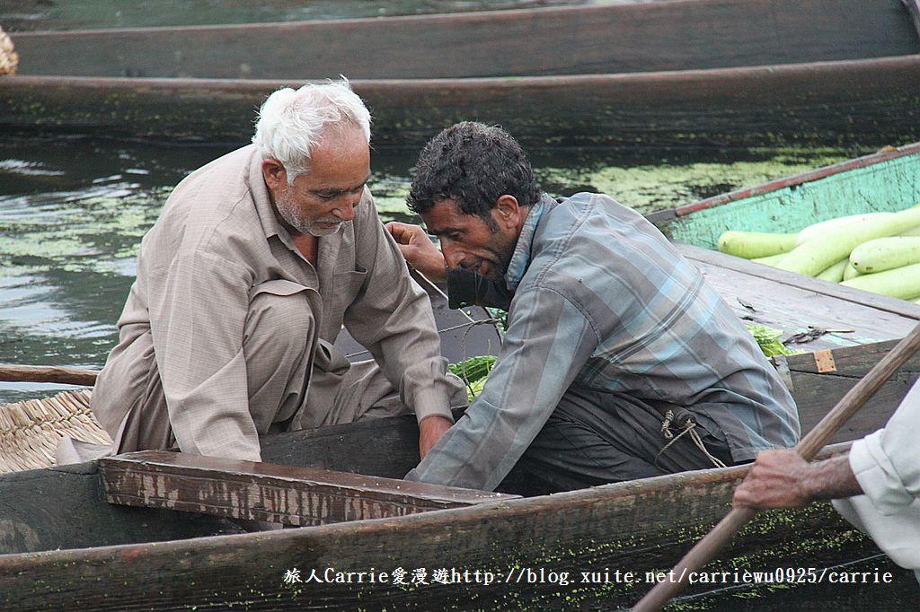 【喀什米爾Kashmir】印度India‧斯里那加Srinagar‧達爾湖Dal Lake~水上市場:IMG_0200.jpg