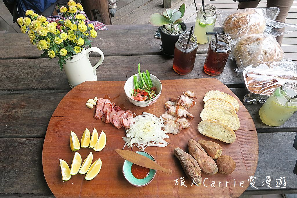 【嘉義阿里山】來吉部落廚房~融合鄒族與南非風味‧手工窯烤麵包‧披薩‧焗烤通心麵‧阿里山咖啡: