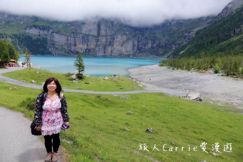 瑞士厄希嫩湖/ 歐能辛湖(Oeschinensee)~在世界自然遺產搭纜車玩滑梯健行趣【瑞士旅遊】:DSC07909.jpg