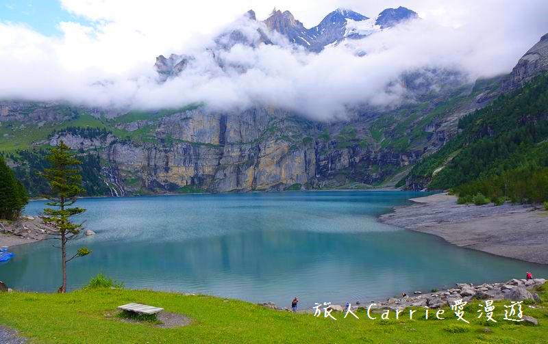 瑞士厄希嫩湖/ 歐能辛湖(Oeschinensee)~在世界自然遺產搭纜車玩滑梯健行趣【瑞士旅遊】:02DSC07912.jpg