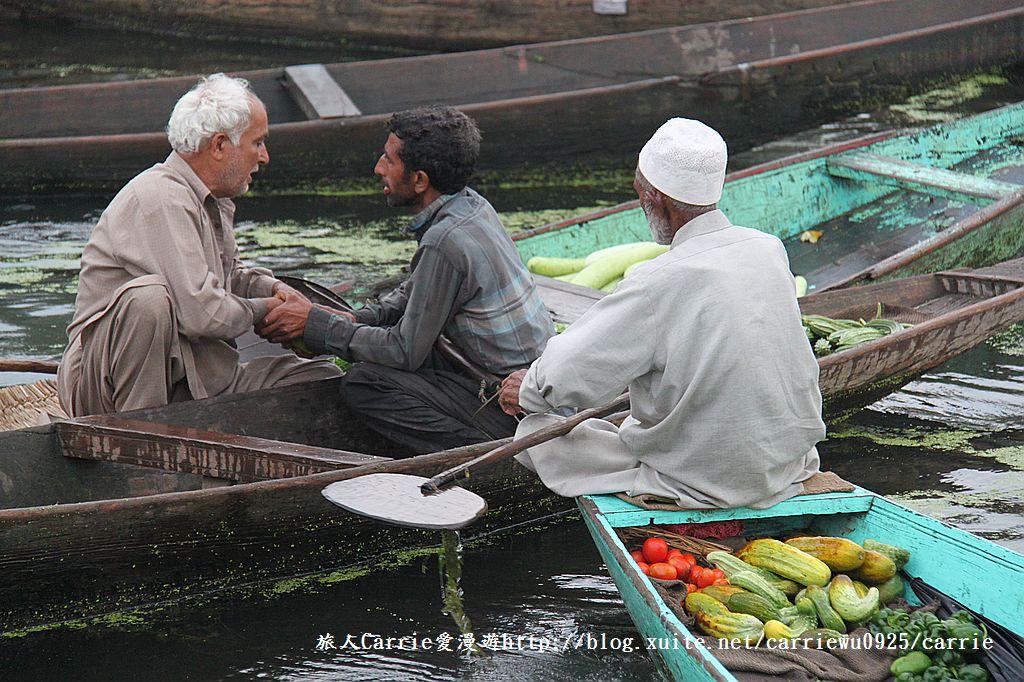 【喀什米爾Kashmir】印度India‧斯里那加Srinagar‧達爾湖Dal Lake~水上市場:IMG_0201.jpg