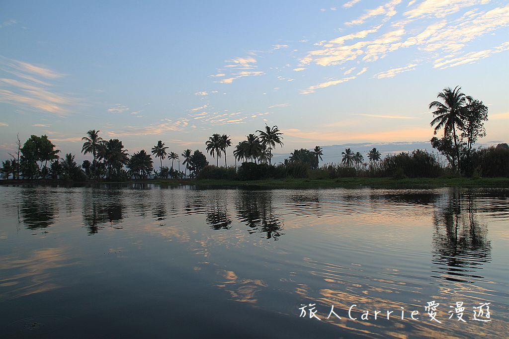【南印喀拉拉】阿勒皮Alleppey~迴水區Backwater清晨盪小舟送明月迎朝陽:IMG_9190.jpg