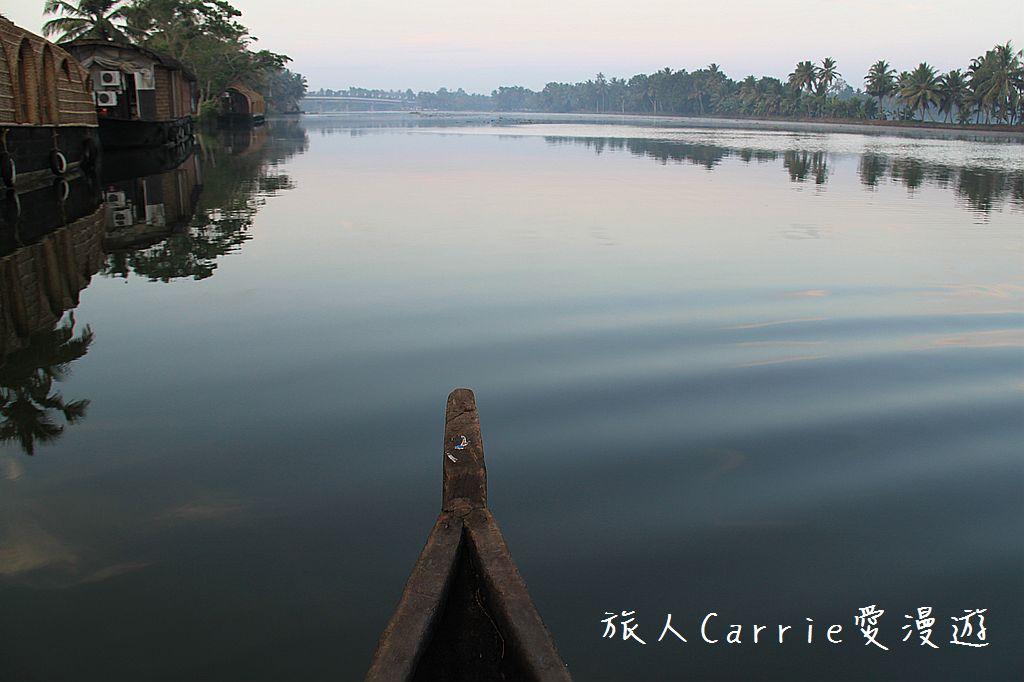 【南印喀拉拉】阿勒皮Alleppey~迴水區Backwater清晨盪小舟送明月迎朝陽:IMG_9181.jpg