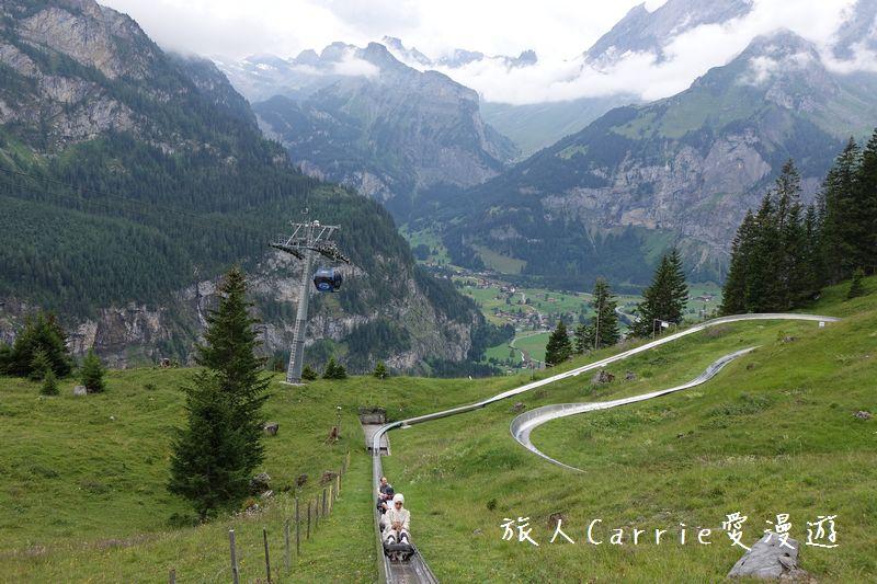 瑞士厄希嫩湖/ 歐能辛湖(Oeschinensee)~在世界自然遺產搭纜車玩滑梯健行趣【瑞士旅遊】:DSC07987.jpg