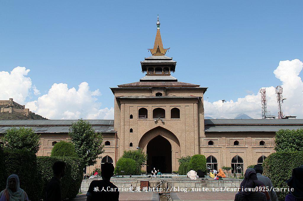 【喀什米爾Kashmir】斯里那加Srinagar‧Jamia Masjid清真寺~舊城區印度哥德風:IMG_8379.jpg
