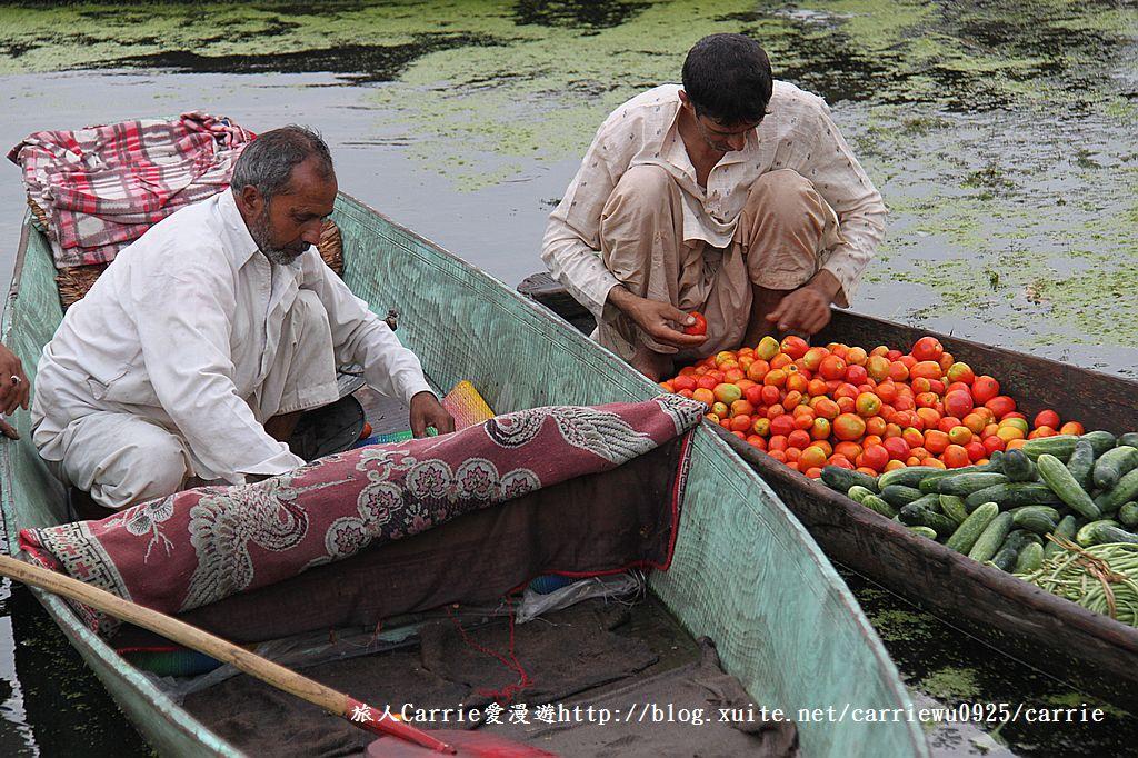 【喀什米爾Kashmir】印度India‧斯里那加Srinagar‧達爾湖Dal Lake~水上市場:IMG_0212.jpg