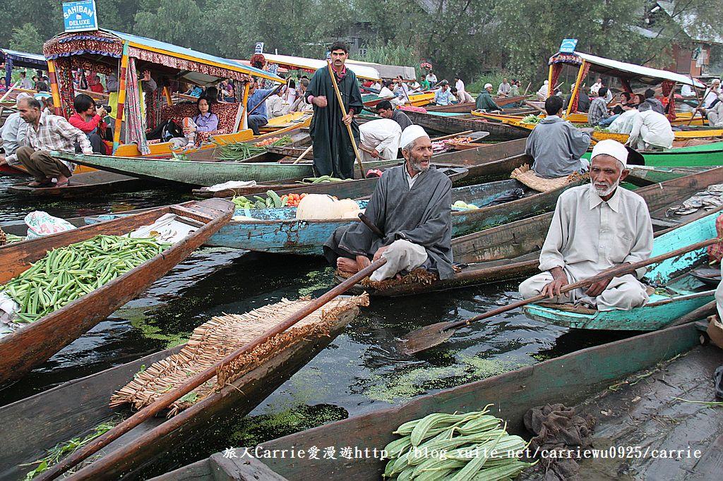 【喀什米爾Kashmir】印度India‧斯里那加Srinagar‧達爾湖Dal Lake~水上市場:IMG_0074.jpg
