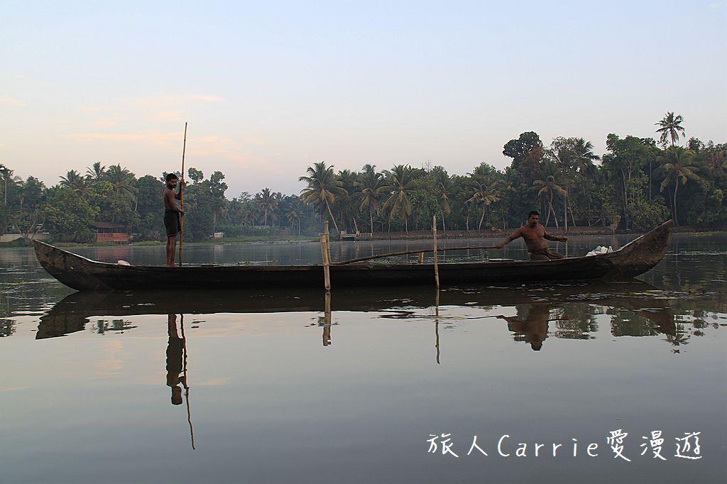【南印喀拉拉】阿勒皮Alleppey~迴水區Backwater清晨盪小舟送明月迎朝陽:IMG_9220.jpg