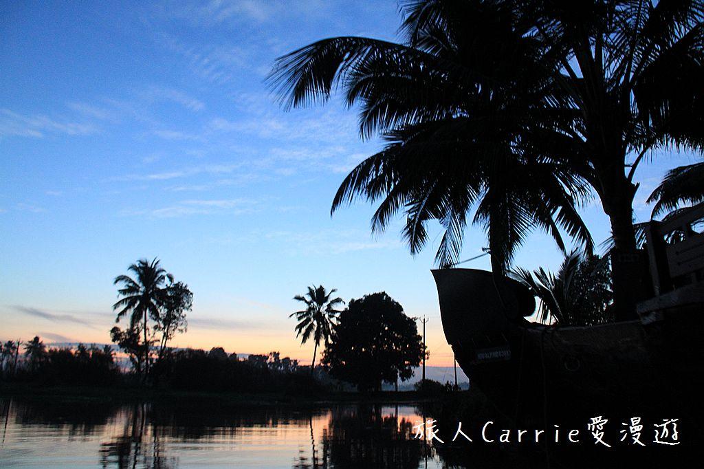 【南印喀拉拉】阿勒皮Alleppey~迴水區Backwater清晨盪小舟送明月迎朝陽:IMG_9080.jpg