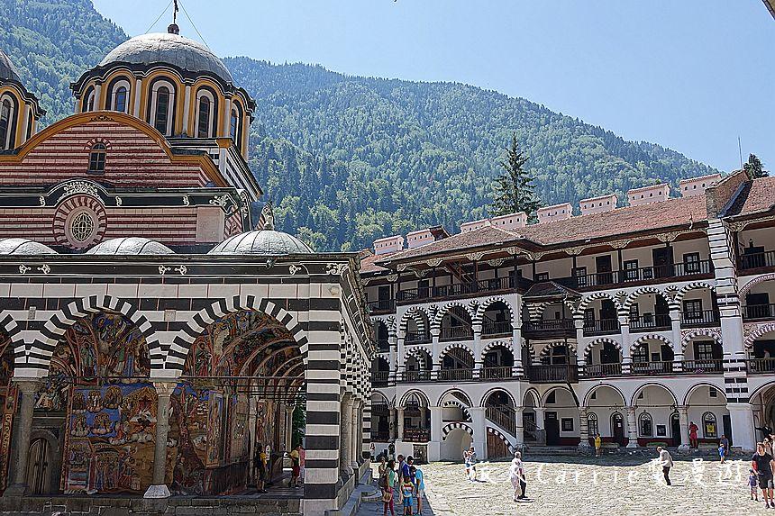 【保加利亞旅遊】里拉修道院~世界遺產UNESCO,1983‧東正教總教堂+巴爾幹半島最大修道院‧神聖: