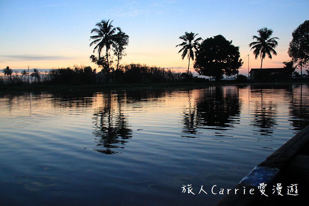 【南印喀拉拉】阿勒皮Alleppey~迴水區Backwater清晨盪小舟送明月迎朝陽:IMG_9103.jpg