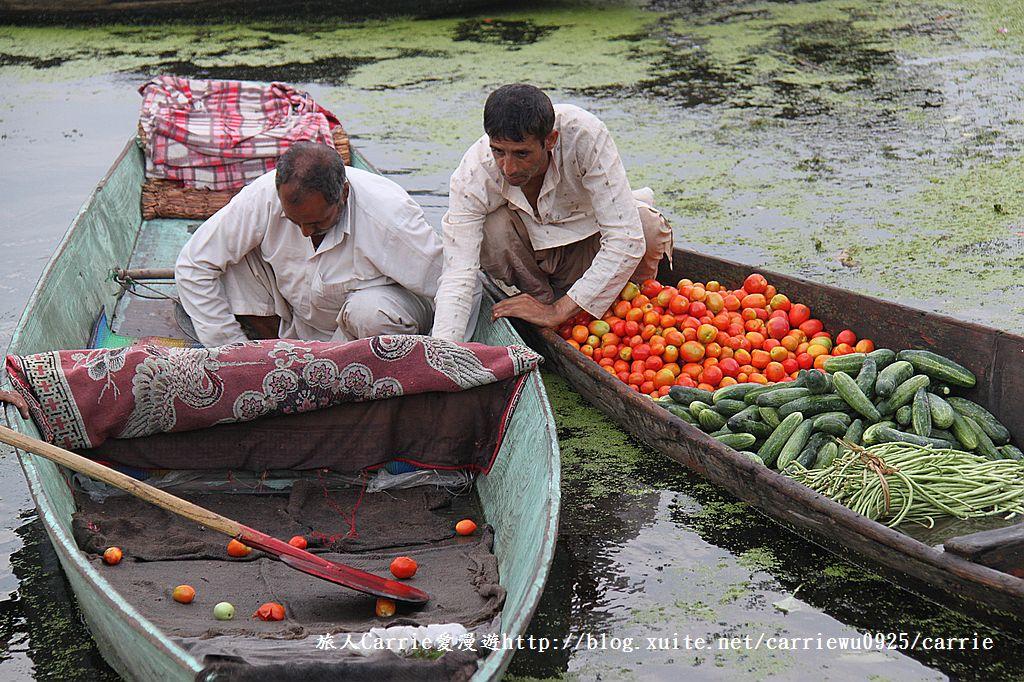 【喀什米爾Kashmir】印度India‧斯里那加Srinagar‧達爾湖Dal Lake~水上市場:IMG_0213.jpg