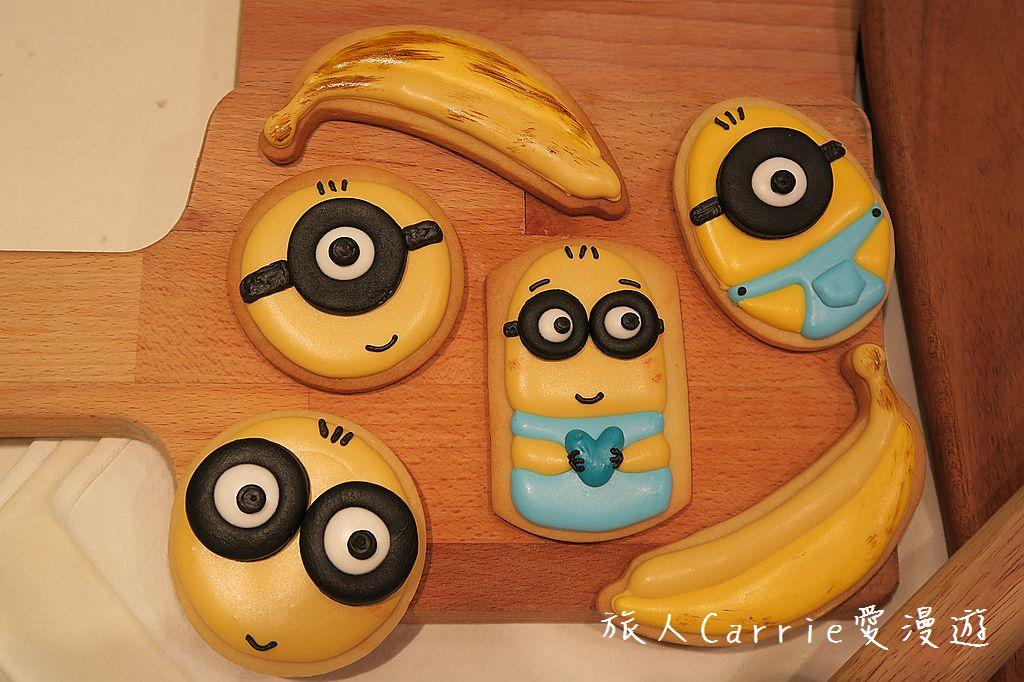 【FunCooking瘋食課@BELLAVITA】小小兵糖霜餅乾,幸福的魔力~閃閃老師巧手彩繪金黃+: