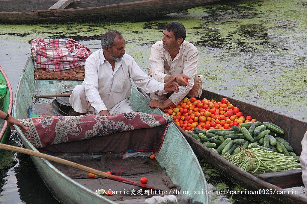 【喀什米爾Kashmir】印度India‧斯里那加Srinagar‧達爾湖Dal Lake~水上市場:IMG_0214.jpg