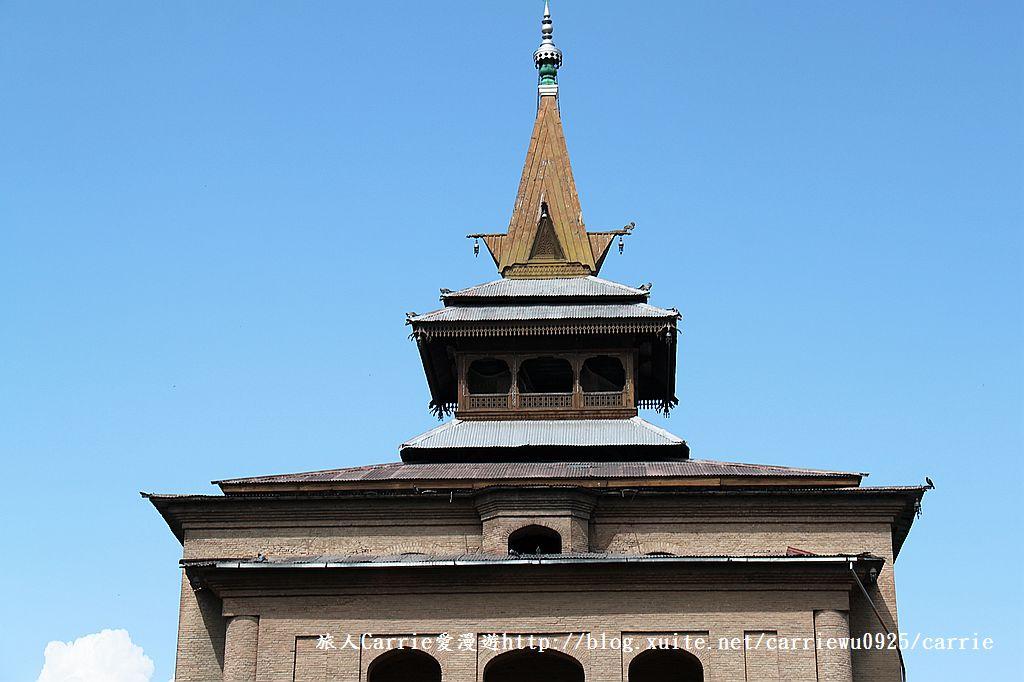 【喀什米爾Kashmir】斯里那加Srinagar‧Jamia Masjid清真寺~舊城區印度哥德風:IMG_8389.jpg