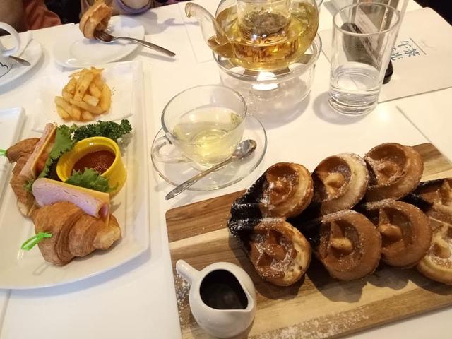 【台北西門】永安棧精品酒店/鬧中取靜的午茶鬆餅