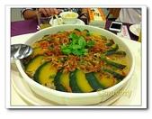 海鮮:櫻花蝦南瓜油飯
