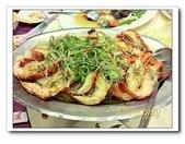 海鮮:清蒸蒜味明蝦