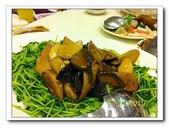 海鮮:香菇與青菜