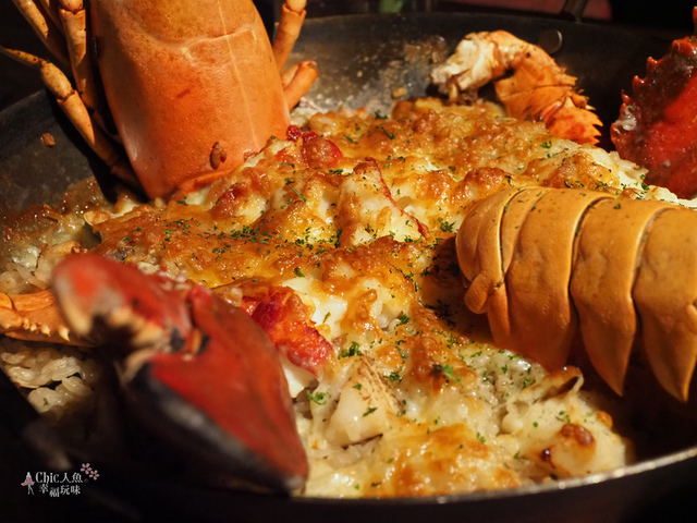 花彘醺-經典單點-頂級龍蝦蝦膏燉飯 (6).jpg - 台北美食。花彘醺 BISTRO (美食篇)