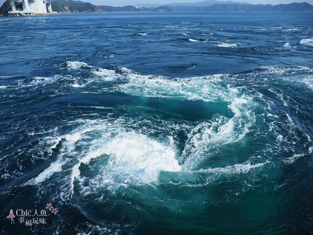 鳴門渦潮觀覽船 (120).jpg - 帶泰國小姐遊四國。德島縣。鳴門海峽渦潮