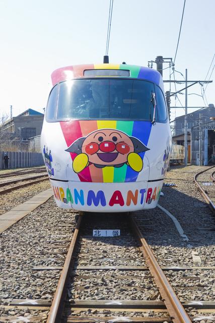 予讃線8000系アンパンマン列車正面.jpg - JR四國。麵包超人列車