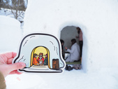 日光奧奧女子旅。湯西川溫泉かまくら祭り:湯西川溫泉-雪屋BBQ-第25 回雪屋祭-澤口會場-日景 (33).jpg