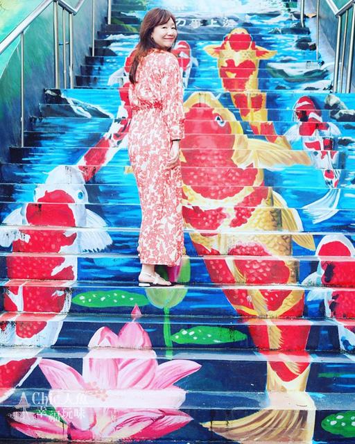 花蓮市順天宮3D彩繪天梯 (1).jpg - 花蓮市。遺忘事務所-文青哲學之牆VS順天宮3D彩繪天梯