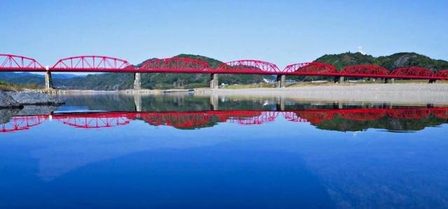 四万十紅鐵橋.jpg - JR四國PASS