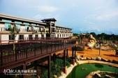 《新竹HOTEL》關西六福莊生態渡假旅館(食&宿:六福莊生態渡假旅館-中庭景觀區動
