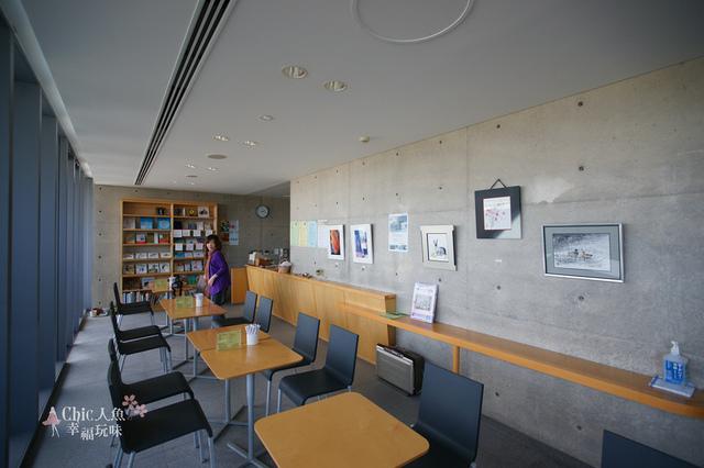 安藤忠雄-西田幾多郎記念館2F CAFE (15).JPG - 安藤忠雄光與影の建築之旅。西田幾多郎記念館
