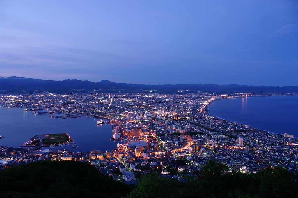 北海道函館。函館山百萬夜景:函館山夜景 (32).JPG