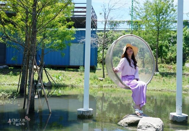 Pony cafe 透明卵形鞦韆 (15).JPG - 花蓮IG景點。Pony咖啡廳 天空之梯