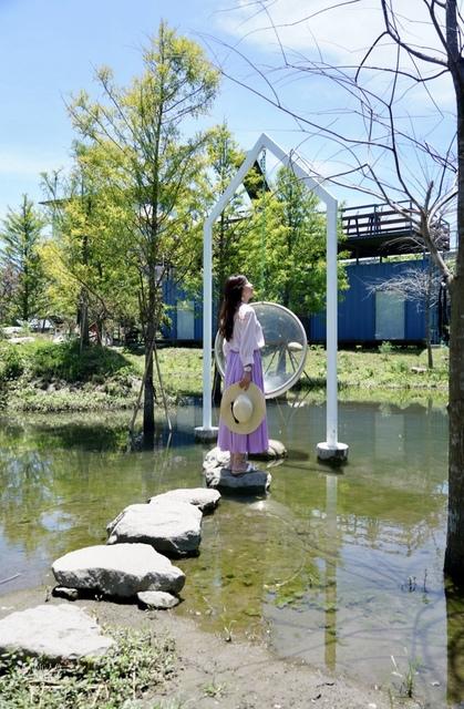 Pony cafe 透明卵形鞦韆 (18).JPG - 花蓮IG景點。Pony咖啡廳 天空之梯
