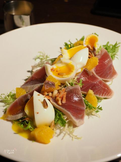花彘醺-經典單點-2溏心蛋漁夫沙拉 (9).jpg - 台北美食。花彘醺 BISTRO (美食篇)