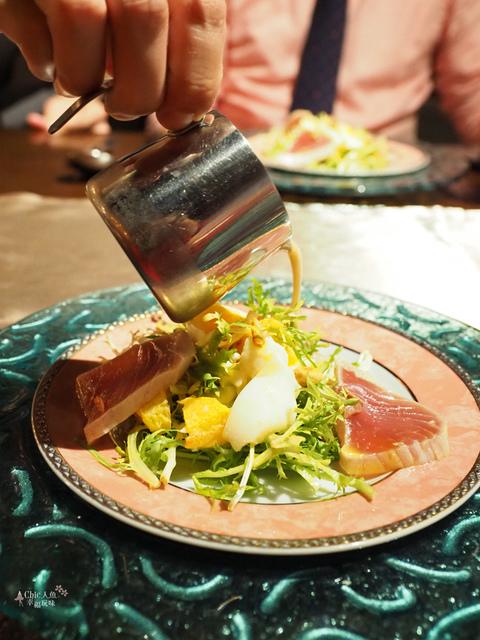花彘醺-經典單點-2溏心蛋漁夫沙拉 (12).jpg - 台北美食。花彘醺 BISTRO (美食篇)