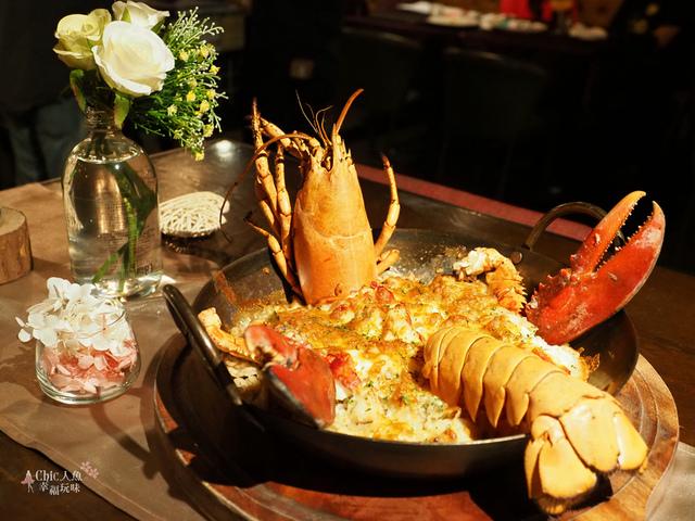 花彘醺-經典單點-頂級龍蝦蝦膏燉飯 (1).jpg - 台北美食。花彘醺 BISTRO (美食篇)