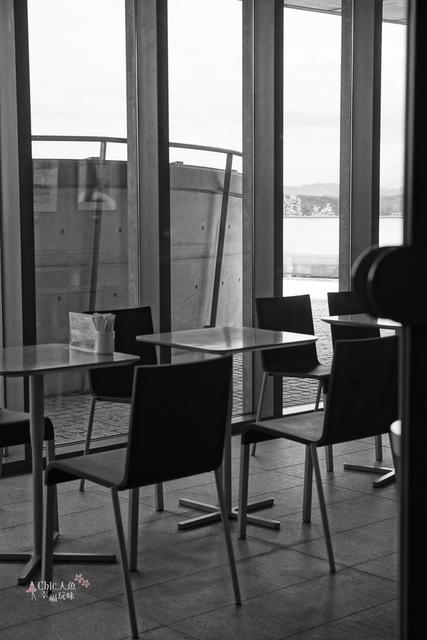 安藤忠雄-西田幾多郎記念館2F CAFE (3).JPG - 安藤忠雄光與影の建築之旅。西田幾多郎記念館