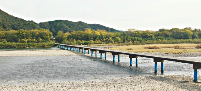 四万十佐田沉下橋.jpg - JR四國PASS