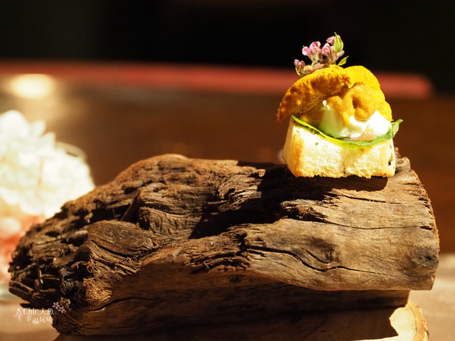 花彘醺-經典單點-5一口點-海膽一口點 (5).jpg - 台北美食。花彘醺 BISTRO (美食篇)