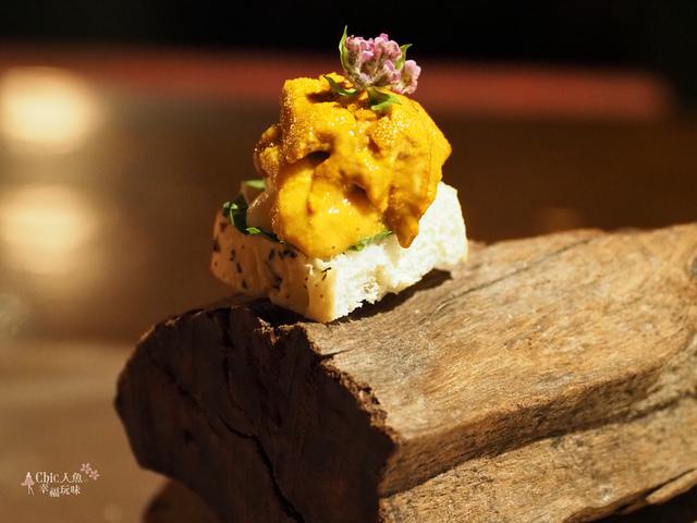 花彘醺-經典單點-5一口點-海膽一口點 (2).jpg - 台北美食。花彘醺 BISTRO (美食篇)